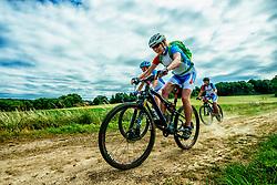 24-06-2017 NED: Training We Bike 2 Change Diabetes, Landgraaf<br /> Oefenweekend voor 15 deelnemers die in september de Tour de Mont Blanc gaan doen. Marion, Maartje en Mari&euml;lle