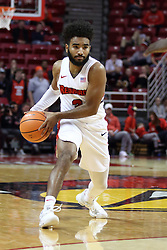 07 January 2018:  Keyshawn Evans during a College mens basketball game between the Missouri State Bears and Illinois State Redbirds in Redbird Arena, Normal IL