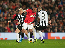 Anthony Martial of Manchester United in action - Mandatory by-line: Jack Phillips/JMP - 07/11/2019 - FOOTBALL - Old Trafford - Manchester, England - Manchester United v Partizan - UEFA Europa League