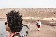 Cabo Verde, Sal, Pedra Lume Salt Crater