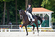 Juliette Piotrowski - Sir Diamond<br /> FEI European Dressage Championships for Young Riders and Juniors 2013<br /> © DigiShots