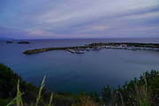 The coastline near Lassi, Cephalonia, Ionian Islands, Greece at sunset