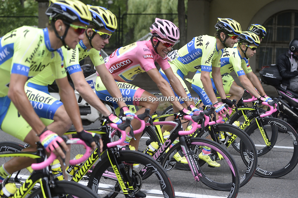 Contador Alberto - Tinkoff Saxo - 31.05.2015 - Tour d'Italie - Etape 21 : Turin / Milan <br />Photo : Sirotti / Icon Sport *** Local Caption ***