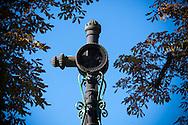 1/11/16 - PLAINE DE BOULADE - PUY DE DOME - FRANCE - Croix de Boulade dans les environs d Issoire - Photo Jerome CHABANNE