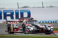 Marcel Fassler (CHE) / Andre Lotterer (DEU) / Benoit Treluyer (FRA) #7 Audi Sport Team Joest Audi R18 e-tron quattro,  at Silverstone, Towcester, Northamptonshire, United Kingdom. April 15 2016. World Copyright Peter Taylor.