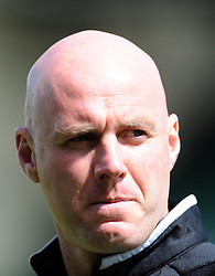Port Vale Manager, Robert Page- Photo mandatory by-line: Harry Trump/JMP - Mobile: 07966 386802 - 25/04/15 - SPORT - FOOTBALL - Sky Bet League One - Yeovil Town v Port Vale - Huish Park, Yeovil, England.