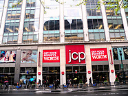 USA: JC Penny's stock price drop-New York