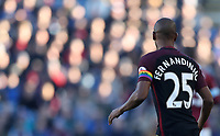 Football - 2016/2017 Premier League - Burnley vs Manchester City <br /> <br /> Fernandinho of Manchester City wears a rainbow captains armband during the match at Turf Moor <br /> <br /> COLORSPORT/LYNNE CAMERON