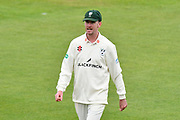 Steve Magoffin of Worcestershire during the Specsavers County Champ Div 1 match between Hampshire County Cricket Club and Worcestershire County Cricket Club at the Ageas Bowl, Southampton, United Kingdom on 13 April 2018. Picture by Graham Hunt.