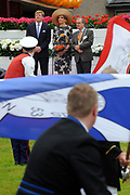 Koning Willem Alexander en Koningin Maxima op provinciebezoek in Gelderland .<br /> <br /> King Willem Alexander and Queen Maxima visit the province of  Gelderland<br /> <br /> Op de foto:  <br /> <br />   Koning Willem Alexander en Koningin Maxima brengen een bezoek aan De Liemers, locatie Duiven. De streek Liemers staat onder meer bekend om een erg bloeiend verenigingsleven, vooral haar schutterijen met een vaak eeuwenoude geschiedenis<br /> <br /> King Willem Alexander and Maxima Queen visit the Liemers, location Pigeons. The region Liemers is also known for a very dynamic community, especially its militias often with ancient history