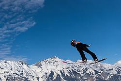 February 24, 2019 - Innsbruck, AUSTRIA - 190224 Johann André Forfang of Norway competes in ski jumping team large hill during the FIS Nordic World Ski Championships on February 24, 2019 in Innsbruck..Photo: Joel Marklund / BILDBYRÃ…N / kod JM / 87890 (Credit Image: © Joel Marklund/Bildbyran via ZUMA Press)