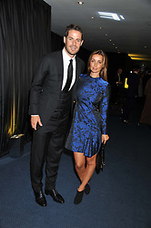 JAIME & LOUISE REDKNAPP at the GQ Men of The Year Awards 2012 held at The Royal Opera House, London on 4th September 2012.