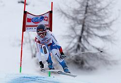 02.03.2014, Mont Lachaux, Crans Montana, SUI, FIS Weltcup Ski Alpin, Crans Montana, Abfahrt, Damen, im Bild Dominique Gisin (SUI) // during Womens Downhill of FIS Ski Alpine World Cup at the Mont Lachaux in Crans Montana, Switzerland on 2014/03/02. EXPA Pictures © 2014, PhotoCredit: EXPA/ Freshfocus/ Christian Pfander<br /> <br /> *****ATTENTION - for AUT, SLO, CRO, SRB, BIH, MAZ only*****