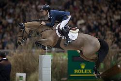 Brash Scott, (GBR), Ursula XII<br /> Farewell of Nino<br /> Grand Prix Rolex<br /> CHI de Genève 2016<br /> © Hippo Foto - Dirk Caremans<br /> 11/12/2016er