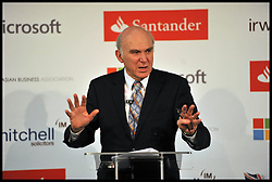 Business Secretary Vince Cable Launches the National Asian Business Association, London, Monday March 4, 2013. Photo By Andrew Parsons / i-Images