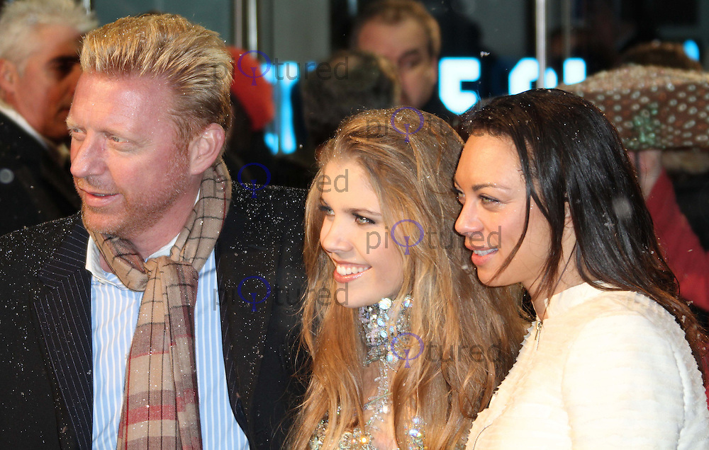 Boris Becker; Victoria Swarovski; Sharlely Lilly Becker The Chronicles of Narnia: The Voyage of the Dawn Treader World Premiere, Odeon Cinema, Leicester Square, London UK, 30 November 2010: piQtured Sales: Ian@Piqtured.com +44(0)791 626 2580 (picture by Richard Goldschmidt)