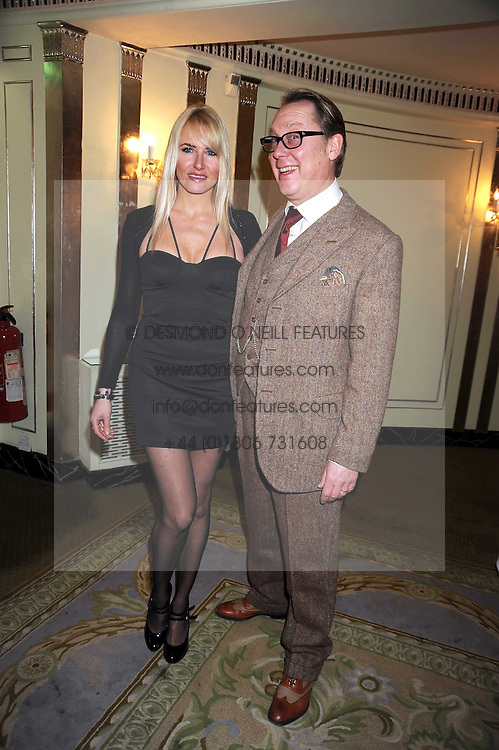 VIC REEVES and NANCY SORRELL at the 2009 South Bank Show Awards held at The Dorchester, Park Lane, London on 20th January 2009.
