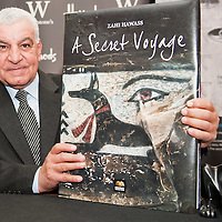 Dr Zahi Hawass at Harrods