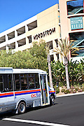 OCTA Bus Arriving At The Shops At Mission Viejo Mall