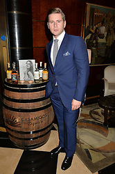 ALLEN LEECH at the London launch of Casamigos Tequila hosted by Rande Gerber, George Clooney & Michael Meldman and to celebrate Cindy Crawford's new book 'Becoming' held at The Beaumont Hotel, Brown Hart Gardens, 8 Balderton Street, London on 1st October 2015.