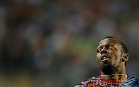 Usain Bolt from Jamaica runs on his way to win the men100m race during the Memorial Van Damme IAAF Diamond League international athletics meeting in Brussels, Belgium, 6 September 2013.