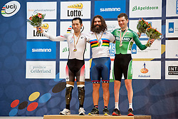 FUJITA Masaki, BERENYI Joseph, CLIFFORD Eoghan, JPN, USA, IRE, Individual Pursuit, 2015 UCI Para-Cycling Track World Championships, Apeldoorn, Netherlands