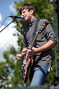 Gentleman Auction House performing at LouFest in St. Louis on August 29, 2010.
