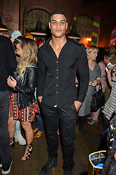 Model ROB EVANS at a party to celebrate the launch of fashion retailer WeKoko.com held at Sketch, 9 Conduit Street, London on 13th April 2016.