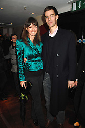 LADY ROSANAGH INNES-KER and her fiance VISCOUNT GRIMSTON at a party to celebrate the Russian New Year in association with Stolichnaya vodka held at Harvey Nichols, London on 14th January 2008.<br /> <br /> NON EXCLUSIVE - WORLD RIGHTS
