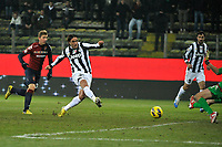 Alessandro Matri secondo gol Juventus, goal celebration.Calcio Cagliari vs Juventus .Serie A - Parma 21/12/2012 Stadio Ennio Tardini.Football Calcio 2012/2013.Foto Federico Tardito Insidefoto.