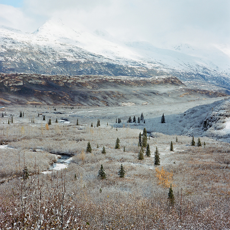 THOMPSON PASS, ALASKA - 2007: