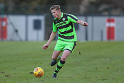 Forest Green Rovers Alex Hallett during the The Central League match between Cheltenham Town Reserves and Forest Green Rovers Reserves at The Energy Check Training Ground, Cheltenham, United Kingdom on 28 November 2017. Photo by Shane Healey.