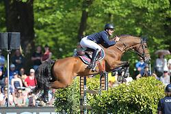 Stuhlmeyer Patrick, (GER), Lacan<br /> Longines Global Champions Tour - Grand Prix of Hamburg<br /> Hamburg - Hamburger Derby 2016<br /> © Hippo Foto - Stefan Lafrentz
