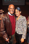 "October 20, 2012-New York, NY: (L-R)Actor/Social Activist Harry Belafonte and Martha Diaz, HipHop Scholar-in-Residence, The Schomburg Center at From Beat Street to These Streets: Hip Hop Then and Now panel discussion and special screening of "" Beat Street"" co-hosted by the Schomburg Center, the Tribeca Youth Screening Series & Belafonte Enterprises and held at The Schomburg Center on October 20, 2012 in Harlem, New York City  (Terrence Jennings)"