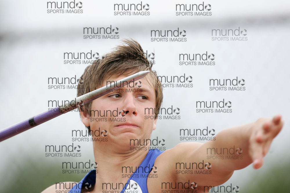 Ottawa, Ontario ---10-08-08---  competes in the javelin at the 2010 Royal Canadian Legion Youth Track and Field Championships in Ottawa, Ontario August 8, 2010..GEOFF ROBINS/Mundo Sport Images.