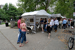 Rittenhouse Square art show and people..Philadelphia, Pennsylvania, PA USA.  Photo copyright Lee Foster, 510-549-2202, lee@fostertravel.com, www.fostertravel.com. Photo 310-30690