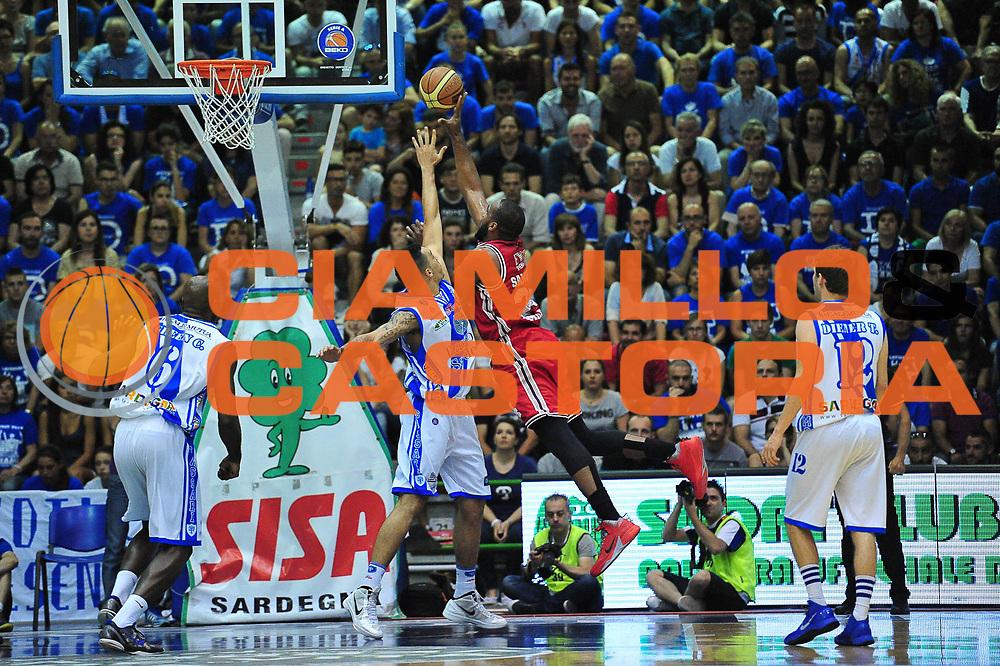 DESCRIZIONE : Campionato 2013/14 Semifinale GARA 6 Dinamo Banco di Sardegna Sassari - Olimpia EA7 Emporio Armani Milano<br /> GIOCATORE : Samardo Samuels<br /> CATEGORIA : Tiro Penetrazione Controcampo<br /> SQUADRA : Olimpia EA7 Emporio Armani Milano<br /> EVENTO : LegaBasket Serie A Beko Playoff 2013/2014<br /> GARA : Dinamo Banco di Sardegna Sassari - Olimpia EA7 Emporio Armani Milano<br /> DATA : 09/06/2014<br /> SPORT : Pallacanestro <br /> AUTORE : Agenzia Ciamillo-Castoria / M.Turrini<br /> Galleria : LegaBasket Serie A Beko Playoff 2013/2014<br /> Fotonotizia : DESCRIZIONE : Campionato 2013/14 Semifinale GARA 6 Dinamo Banco di Sardegna Sassari - Olimpia EA7 Emporio Armani Milano<br /> Predefinita :