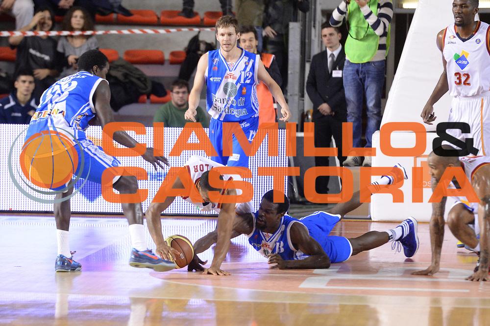DESCRIZIONE : Campionato 2013/14 Acea Virtus Roma - Dinamo Banco di Sardegna Sassari<br /> GIOCATORE : Jordan Taylor<br /> CATEGORIA : Palla Contesa<br /> SQUADRA : Acea Virtus Roma<br /> EVENTO : LegaBasket Serie A Beko 2013/2014<br /> GARA : Acea Virtus Roma - Dinamo Banco di Sardegna Sassari<br /> DATA : 26/12/2013<br /> SPORT : Pallacanestro <br /> AUTORE : Agenzia Ciamillo-Castoria / GiulioCiamillo<br /> Galleria : LegaBasket Serie A Beko 2013/2014<br /> Fotonotizia : Campionato 2013/14 Acea Virtus Roma - Dinamo Banco di Sardegna Sassari<br /> Predefinita :