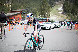 Lucy Shaw (GBR) of Drops Cycling Team finishes the first, 117 km road race stage of the Amgen Tour of California - a stage race in California, United States on May 19, 2016 in South Lake Tahoe, CA.