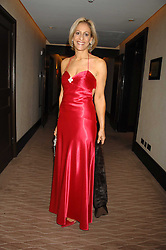 News presenter EMILY MAITLIS at the 2007 Costa Book Awards held at The Intercontinental Hotel, One Hamilton Place, London W1 on 22nd January 2008.<br />