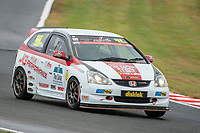 #133 Andy HART Honda Civic EP3  during Cox Motor Parts Civic Cup  as part of the BRSCC NW Mazda Race Day  at Oulton Park, Little Budworth, Cheshire, United Kingdom. June 16 2018. World Copyright Peter Taylor/PSP. Copy of publication required for printed pictures. http://archive.petertaylor-photographic.co.uk