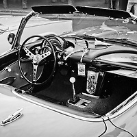 1959 Chevrolet Corvette dashboard.