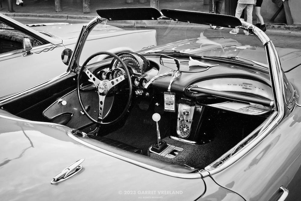 1959 Chevrolet Corvette dashboard.