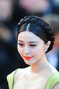 "Fan Bing Bing arrive on the red carpet for  "" The Tree of Life""  film premiere at the Palais des Festivals during the 64th Annual Cannes Film Festival on May 16, 2011 in Cannes, France ..Ki Price + 33678889497"