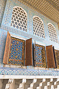 Privy Chamber of Crown Prince in Topkapi Palace, Topkapi Sarayi, part of the Ottoman Empire in Istanbul, Turkey