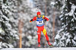 March 9, 2019 - –Stersund, Sweden - 190309 Stavre Jada of Fyr Macedonia competes in the Men's 10 KM sprint during the IBU World Championships Biathlon on March 9, 2019 in Östersund..Photo: Petter Arvidson / BILDBYRÃ…N / kod PA / 92252 (Credit Image: © Petter Arvidson/Bildbyran via ZUMA Press)
