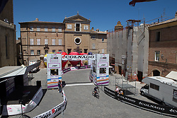 Leah Thorvilson (USA) of CANYON//SRAM Racing finishes early during Stage 5 of the Giro Rosa - a 12.7 km individual time trial, starting and finishing in Sant'Elpido A Mare on July 4, 2017, in Fermo, Italy. (Photo by Balint Hamvas/Velofocus.com)