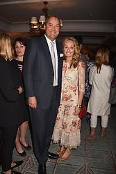 The Hon.Harry Herbert and Clodagh McKenna at the Fortnum & Mason Food and Drink Awards, Fortnum & Mason Food and Drink Awards, London, England. 10 May 2018.