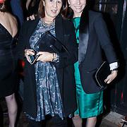 NLD/Amsterdam/20131114 - 10 jarig bestaan Louis Vuitton Nederland, Maybritt Mobach en ...........