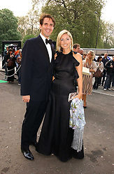 CROWN PRINCE PAVLOS and PRINCESS MARIE CHANTAL OF GREECE at the NSPCC's Dream Auction held at The Royal Albert Hall, London on 9th May 2006.<br /><br />NON EXCLUSIVE - WORLD RIGHTS